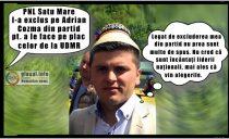 Potlogărie marca PNL: au exclus din partid un consilier județean la Satu Mare pentru a le face pe plac celor de la UDMR!