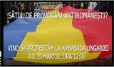 Reprezentantii Noii Drepte vor protesta impotriva provocarilor antiromanesti in fata Ambasadei Ungariei