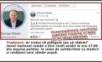 Ce sinecuri antinaționale mai subvenționează statul român: Vicepreședintele consiliului județean Covasna își bate joc de imnul național!