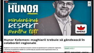Deși vrea să fie ales președinte în România, Kelemen Hunor își face campanie electorală în ... Ungaria!?