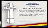 Pe 20 octombrie va fi inaugurat Mausoleul eroilor Armatei Române, în orașul Leova