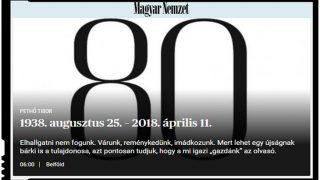 Nici bine n-a castigat Orban, ca s-a si inchis ziarul Magyar Nemzet? Adica asta e chiar o pura intamplare? Nici sorosistilor nu le va fi bine!