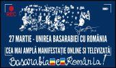 27 martie se mută din stradă la Marea Adunare Online:  pandemia Covid-19 nu ne va opri din a ne bucura și a ne aminti că suntem români