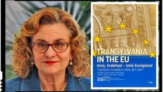 Maria Grapini, indignată de afișul lui Laszlo Tokes din PE: