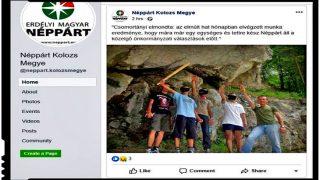 Salut nazist pe facebook din partea președintelui Partidului Popular Maghiar din Transilvania (PPMT)