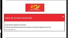 Poșta Română angajează în toată țara! Anunțuri de angajare în toate regiunile