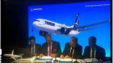 TAROM a cumpărat cinci aeronave Boeing noi, contractul fiind semnat la Londra, în prezența ministrului Transporturilor, Lucian Șova