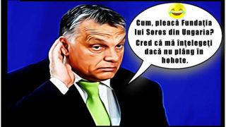 """Fundaţia lui Soros de la Budapesta își anunţă plecarea din Ungaria! Viktor Orban: """"Cred că mă înţelegeţi dacă nu plâng în hohote"""""""