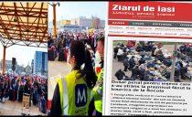 În aceeași zi în care la Cluj era puhoi de lume, la Iași jubilau presa secularistă și militanții antiortodocși că s-a deschis dosar penal pentru o manifestare religioasă