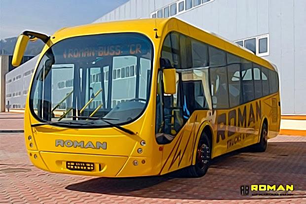 Autobuz Roman - De ce nu avem asa ceva prin orasele din Romania?