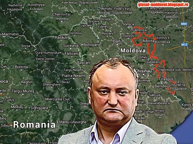 Igor Dodon il roaga pe Iohannis sa nu sustina unionistii