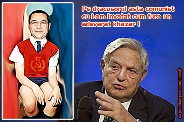 Victorel Khazarel Tonta instruit de un khazar maghiar sa distruga Romania !