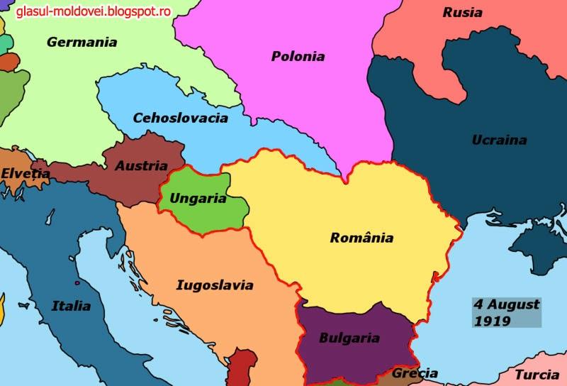 Unirea Romaniei cu Ungaria si Bulgaria