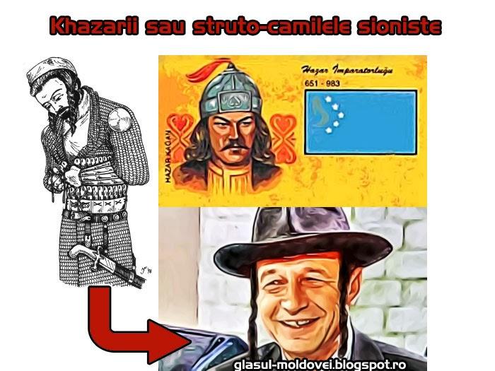 Khazarii sau struto-camilele sioniste promovati pe cheltuiala contribuabililor romani