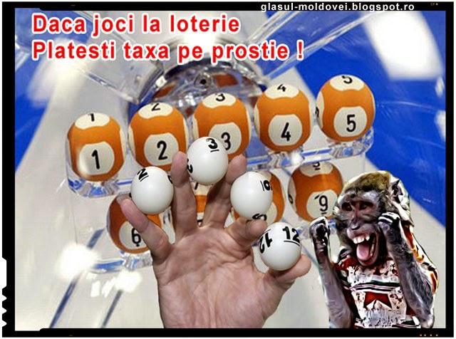 Daca joci la loterie platesti taxa pe prostie!Hoția de la Loteria Națională pe înțelesul tuturor