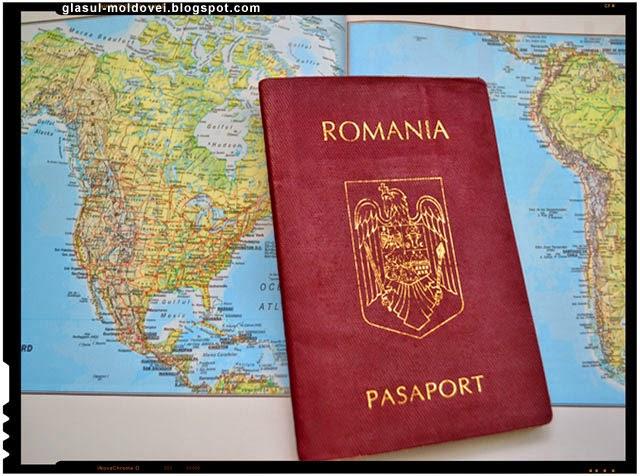 S-au vopsit romani pentru pasaport