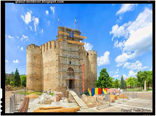 Proiect european pentru restaurarea vechilor cetati ale Moldovei