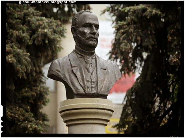 Bust al lui Carol Schmidt dezvelit la Chisinau