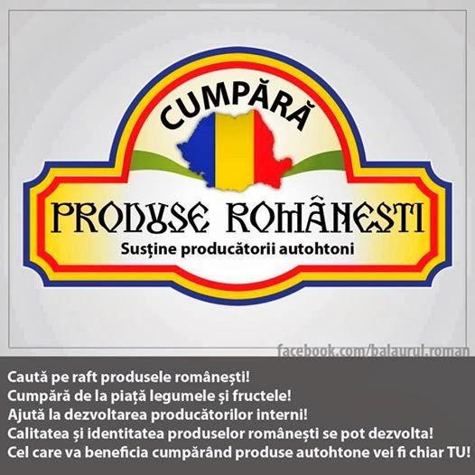 Cumpara produse romanesti !