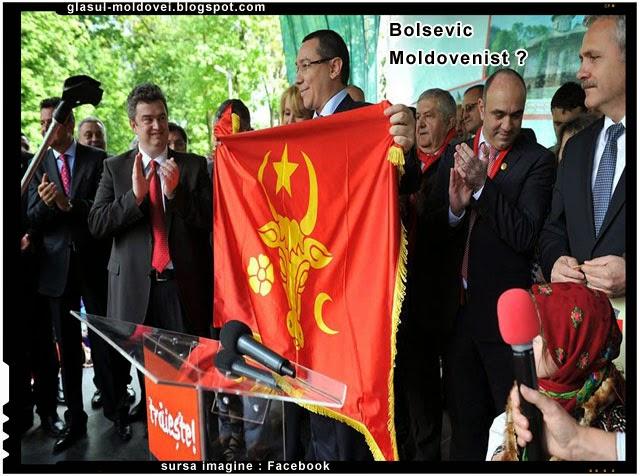 "Victor Ponta, bolsevic ""moldovenist""?"