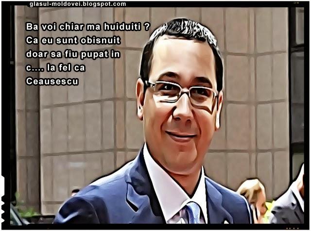 Ponta si-a adus aminte ca in Romania nu sunt doar aplaudaci