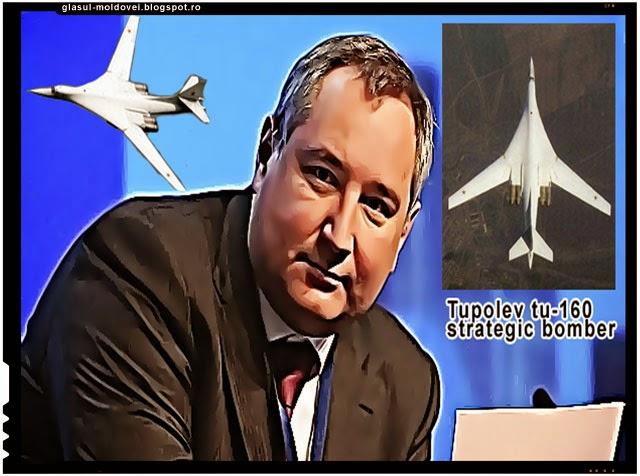 Romania i-a inchis spatiul aerian lui Rogozin - data viitoare vin cu un Tupolev TU-160
