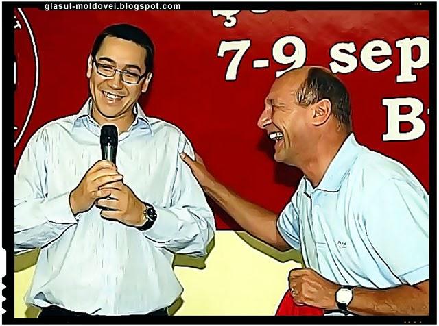 Basescu si cu Ponta, capii mafiei politice din Romania