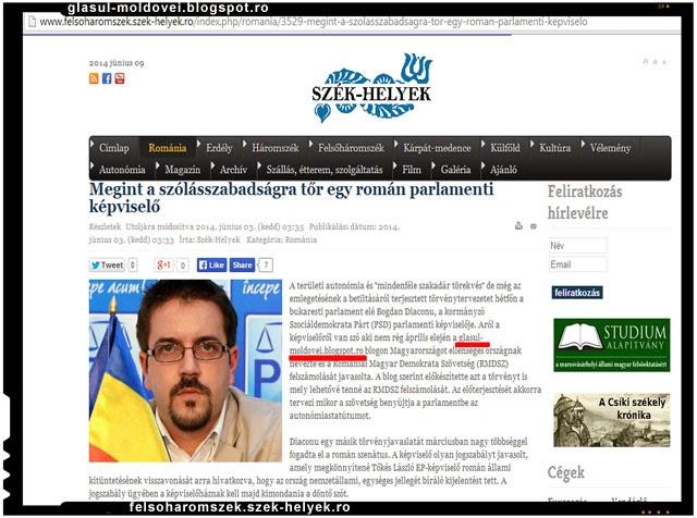 UDMR recurge la santaj pentru a scapa de deputatul Bogdan Diaconu