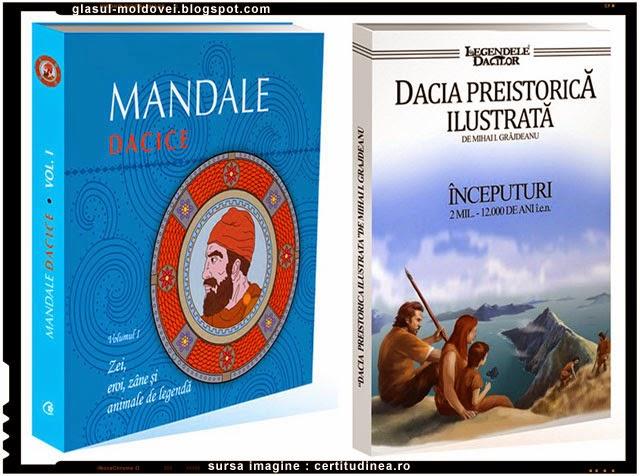 Dubla lansare de carte - Dacia preistorica ilustrata - Mandale dacice