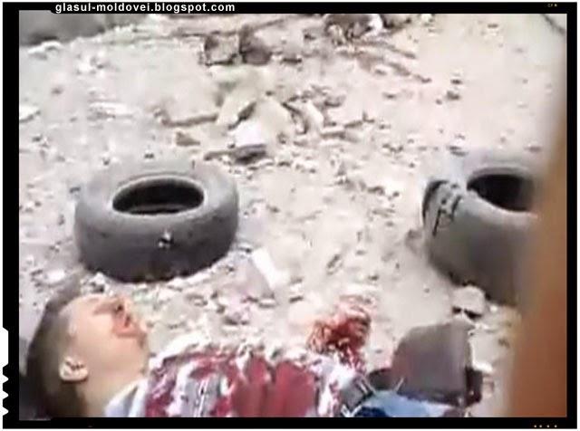 Razboi civil in Ucraina. Scene groaznice si devastatoare