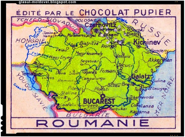 Decret sovietic ce pedepsea detinatorii hartilor cu Romania Mare