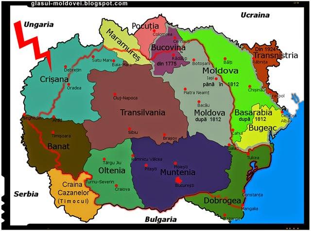 Unde e granita etnica romaneasca la vest? Vrem autonomie pentru Tinutul Crisanei pana la Tisa!