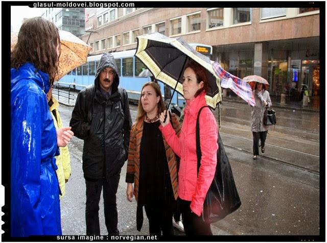 Postul national TV din Norvegia. 6 voluntari români explica norvegienilor sa nu mai dea bani cersetorilor din Romania
