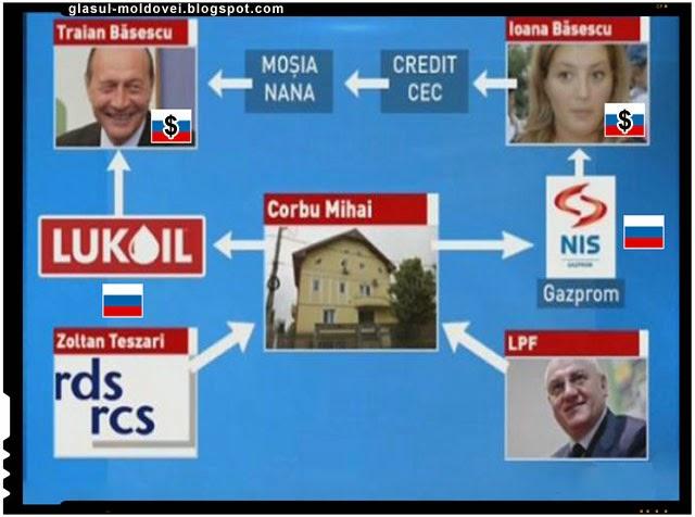 Traian Basescu - ipocrizia unui rusofob hranit cu banii rusilor, Foto: Antena 3