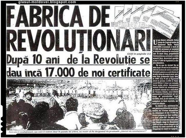 Revolutie cu simbrie, fabrica de revolutionari