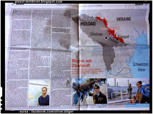 Vant de razmerita pro-europeana in Transnistria?
