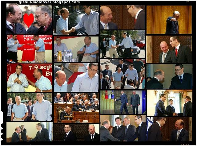 Ponta si Basescu, cardasie intre doi mafioti politici