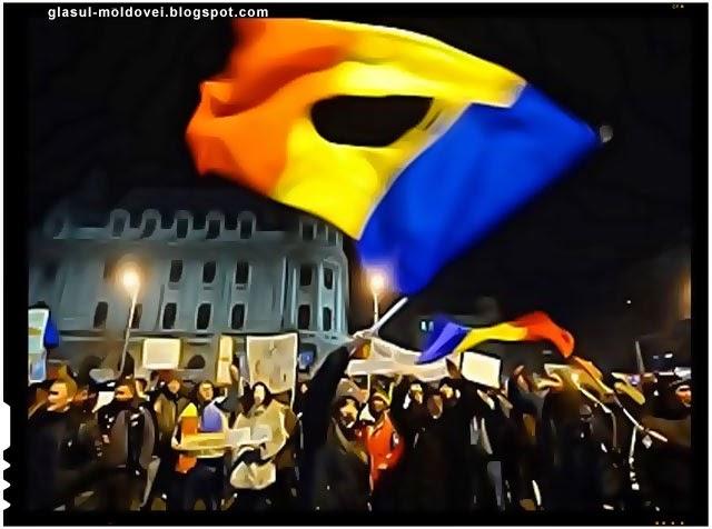 Protest impotriva defaimarii imaginii Romaniei