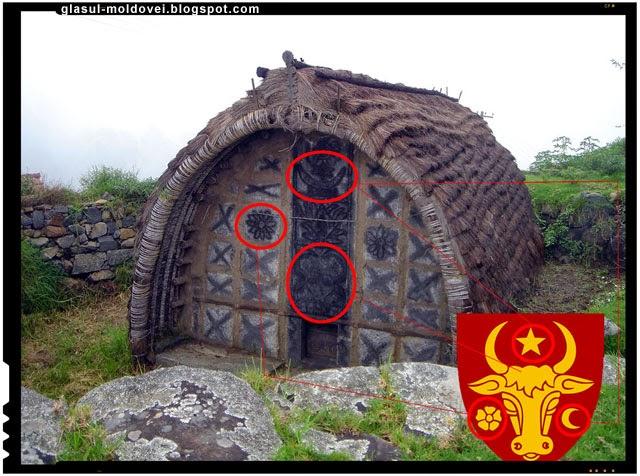 TRIBUL TODA, urmasi ai lu Alexandru Macedon - Stema Moldovei