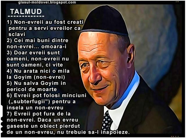 Basescu și Talmudul, Băsescu a condus România după Talmud și Protocoalele Sionului