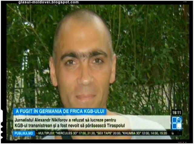 Un jurnalist din Transnistria a fugit de frica KGB-ului, Foto: Publika.md