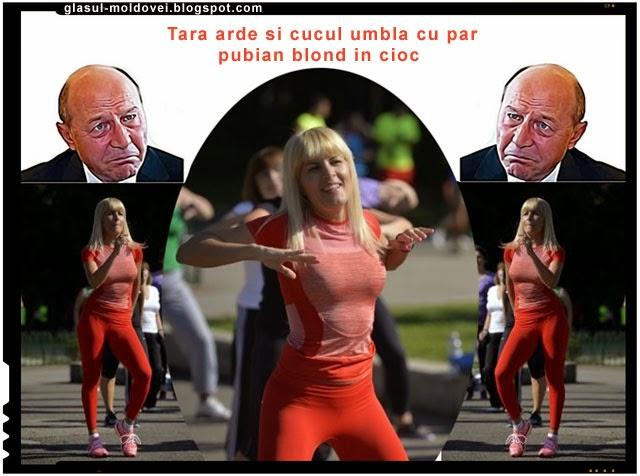 Basescu e in stare sa dea foc tarii pentru a ajunge coana Nuti presedinte!