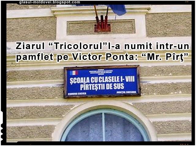 Victor Ponta sau Mr. Part de la Pirtesti, Foto: Glasul-Moldovei.blogspot.com