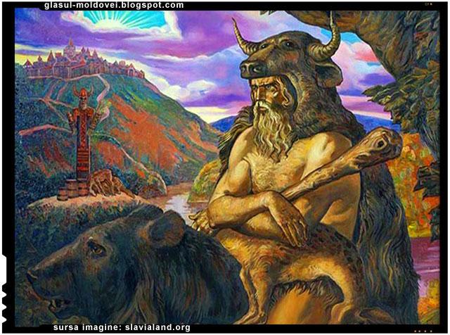 Veles, Volos, zeul taur, zeul turmelor, pastorul lupilor, zeul mortii, zeul lumii subpamantene