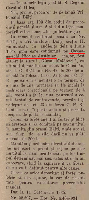 Glasul Moldovei