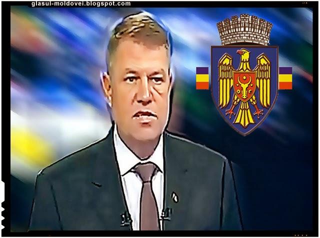 Cum a fost intampinat Klaus Johannis de catre moldovenii din Republica Moldova
