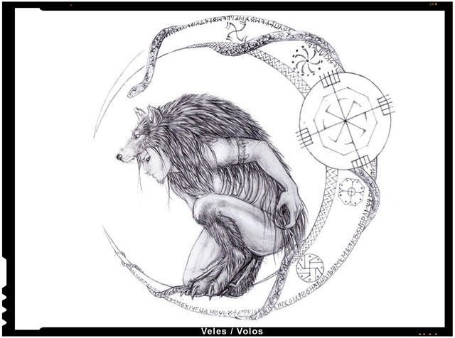 Veles / Volos - pastorul-lup, Pastorul/Stapanul lipilor