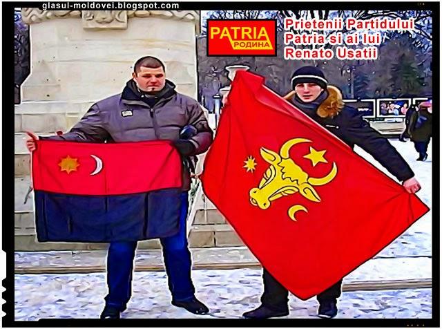 Ardelenistii prieteni cu moldovenistii lui Renato Usatii