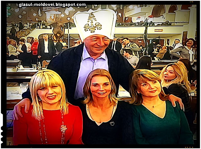 Traian Basescu si haremul sau!