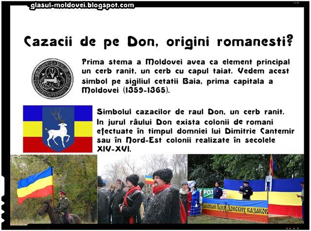 Cazacii de pe raul Don au origini romanesti?